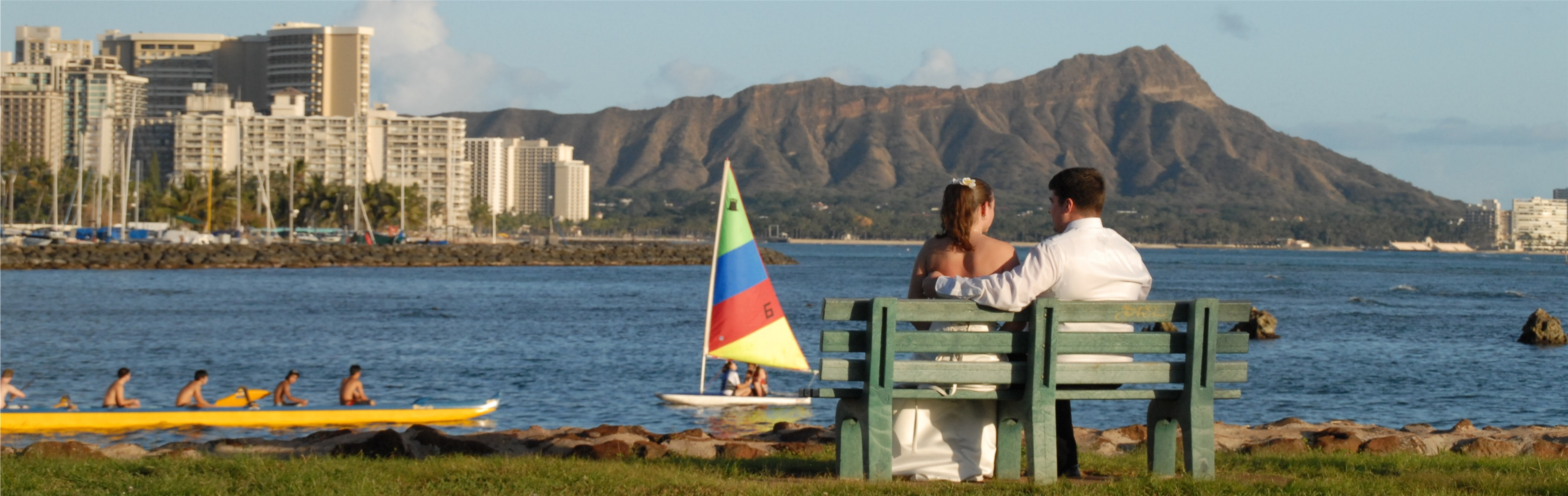 Hawaii Wedding, Magic Island